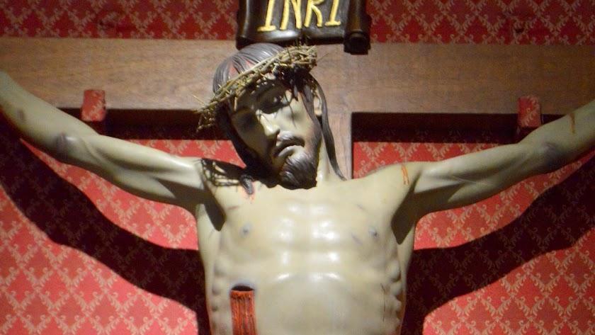 La imagen conocida como el \'Cristo de la Sangre\'.