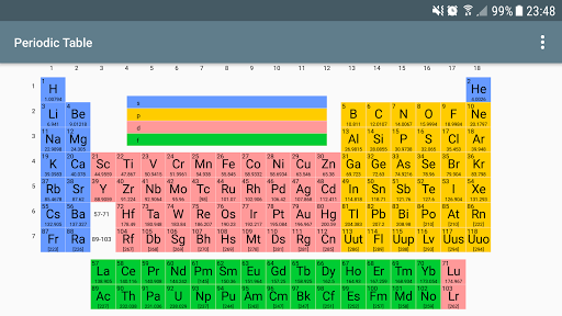 Periodic table of elements pro apk download apkpure periodic table of elements pro screenshot 2 urtaz Image collections