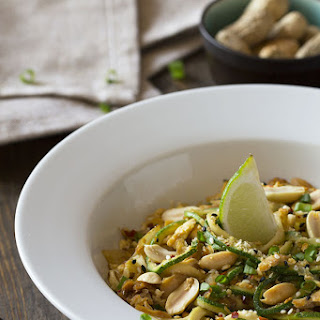 Chicken Peanut Pad Thai.