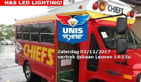 Heerenveen Unis Flyers - Chiefs Leuven: zaterdag 02/12/2017