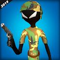 Army Stickman Counter Attack Hero 2019 icon