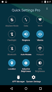 Super Quick Settings Pro – Toggles & AD Free v5.7 [Paid] 4