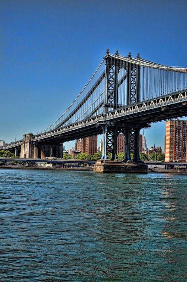 by Vanessa C - Novices Only Landscapes ( new york city, nyc, bridge )