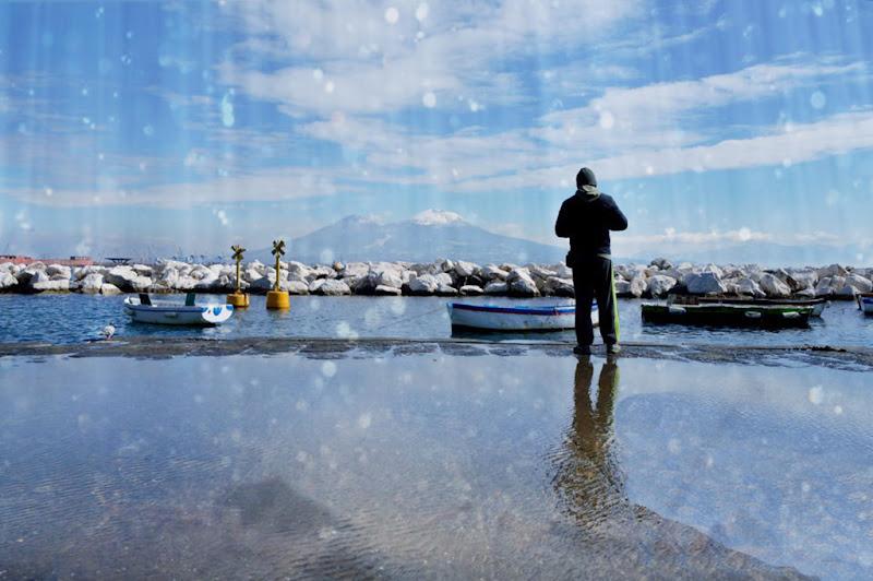 pioggia su mare di g.de.f