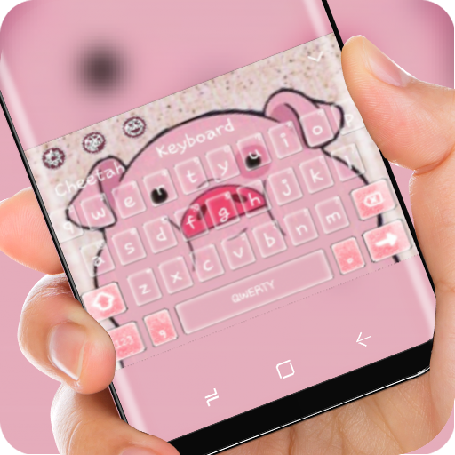 lovely fat pink piggy Theme