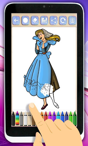 油漆公主灰姑娘
