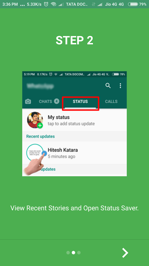 Status Saver : Stories Downloader For Whatsapp- screenshot