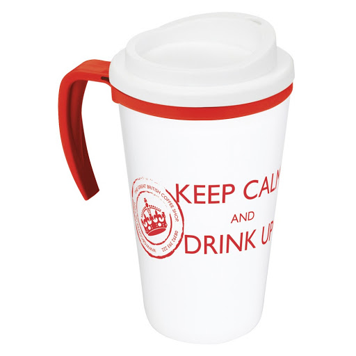 Americano Mug with Handle - White