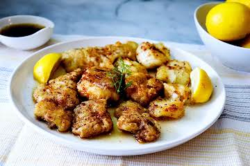 Fish Fillets With Brown Butter (Pan-Fried)
