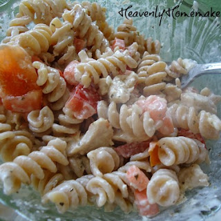 Pasta Salad Bar – Easy, Inexpensive, Nutritious, and Cool.