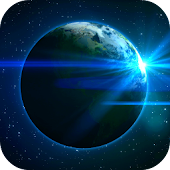Earth In Space Video Wallpaper