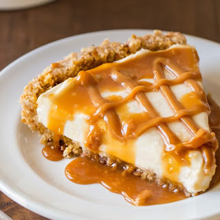 No Bake Salted Caramel Pie