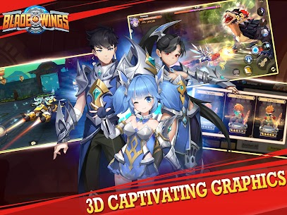 Blade & Wings: 3D Fantasy Anime of Fate & Legends Apk Download For Android and Iphone 1
