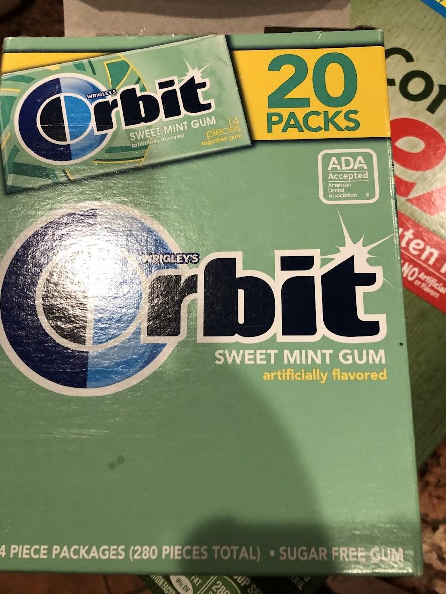 Sweet Mint Sugarfree Gum