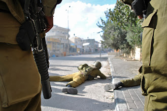 Photo: More Israeli soldiers...