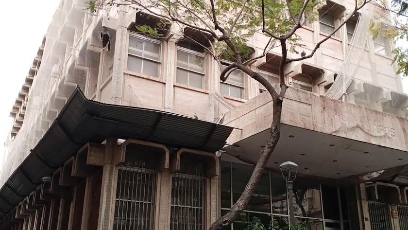 Edificio de Correos en la capital.