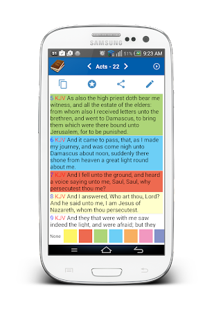 Holy Bible (Multi Version) 2.1.5 screenshot 1405923