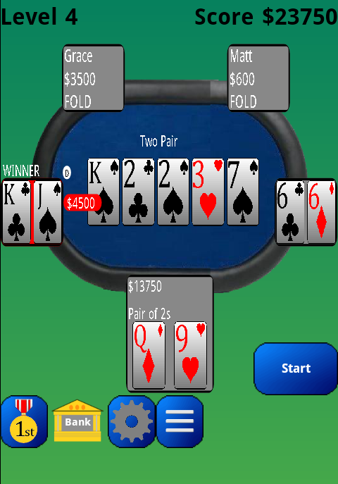 PlayTexas Hold'em Poker Free- screenshot