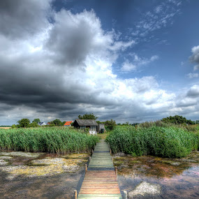 Sletnæs - a great place by Kim  Schou - Landscapes Cloud Formations ( clouds, kim schou, hdr, nakskov fjord, summer, sletnæs,  )