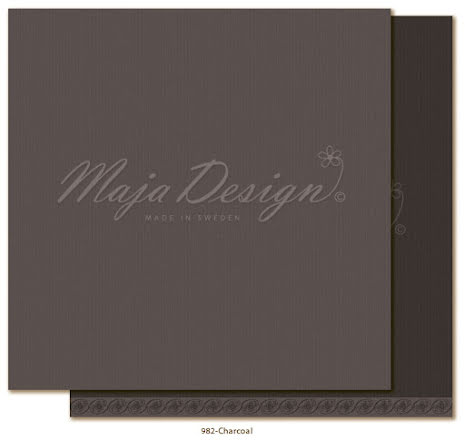 Maja Design Monochromes 12X12 Shades of Celebration - Charcoal
