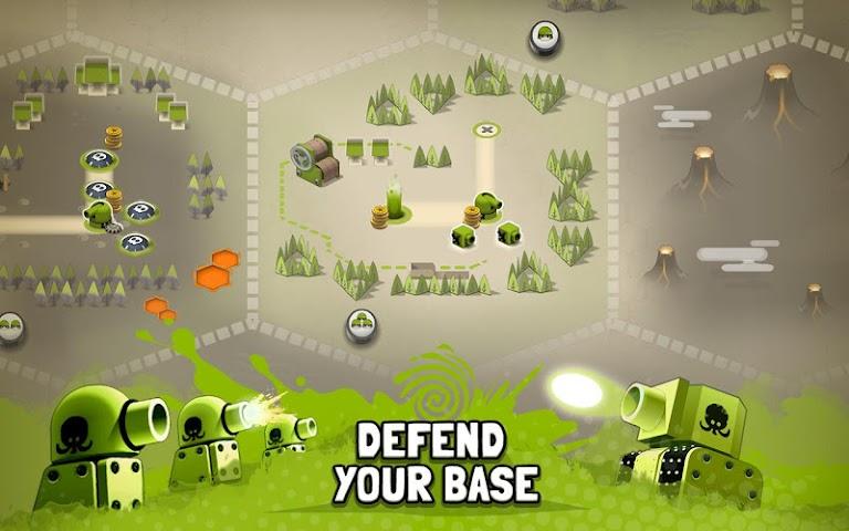 android Tactile Wars Screenshot 2