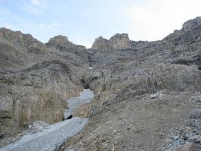 Photo: Complex terrain higher up.
