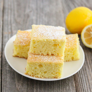 Skinny Lemon Cake.