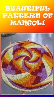 RANGOLI DESIGN OF FLOWERS - náhled