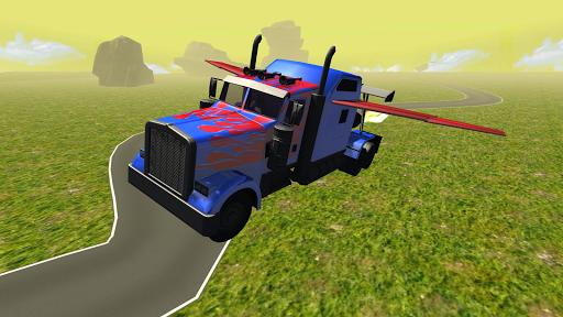 玩免費模擬APP|下載飞行汽车:变压器卡车 app不用錢|硬是要APP