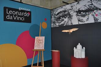 Photo: K naší radosti jsme uvnitř objevili výstavu Život a dílo Leonarda da Vinci.