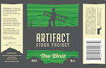 Artifact Cider: New World