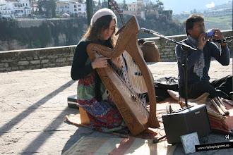 """Photo: 7: ... y sí que es musical y suena genial. El dúo """"Lucho y Leticia"""", le compramos un disco y me encanta, ¡qué delicadeza!."""