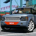 SUV Range Driving Rover Simulator 3D Icon