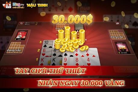 Poker VN – Mậu Binh – Binh Xập Xám – ZingPlay Apk  Download For Android 5