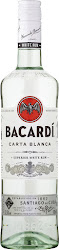 Bacardi Carta Blanca Rum - 700ml