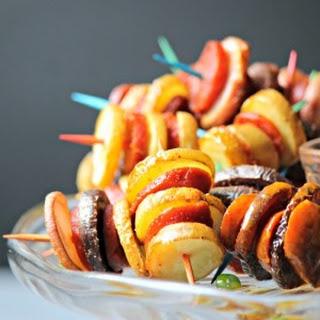 Potato and Chorizo Bites #SundaySupper Recipe