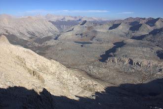 Photo: Kern-Kaweah Valley across to Mount Whitney