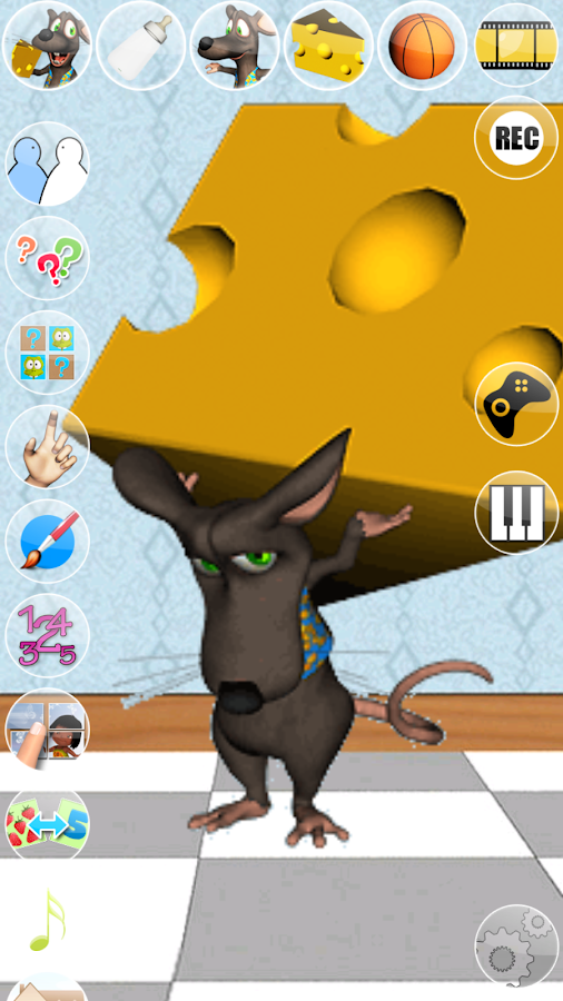 Talking Mike Mouse - screenshot