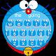Blue Cute Cat Kitty Animoji Keyboard (app)