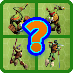GUESS THE TMNT CHARACTERS ?