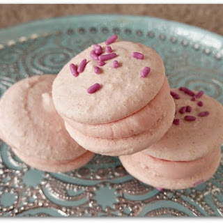 Raspberry and Elderflower French Macarons [Vegan, Gluten-Free]
