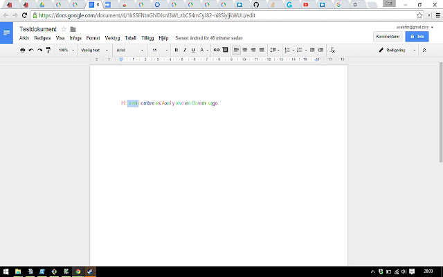 Rainbow Maker - Google Docs add-on
