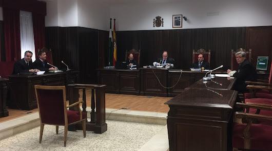 Una sala reformada para el juicio del Caso Poniente