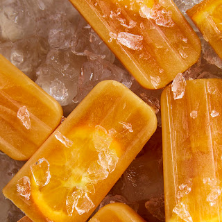 Black Tea & Orange Ice Pops