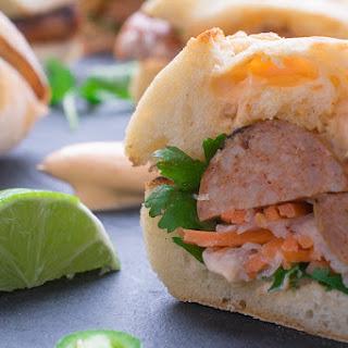 Chicken Sausage Vietnamese Bahn Mi