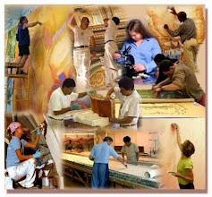 Photo: RESTAURACIÓN DE OBRAS DE ARTE  http://restauradordearte.blogspot.com
