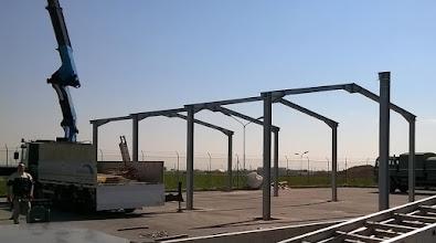 Photo: Struttura per capannone