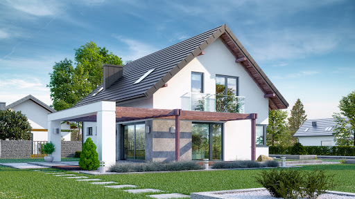 projekt Dom przy Alabastrowej 40