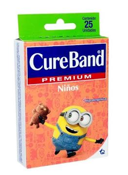 //Curas Cure Band   Premium Niños Caja X25Und.