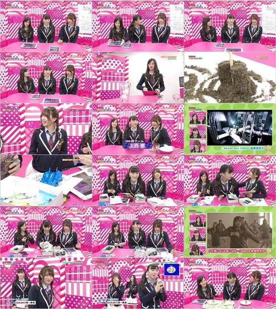 (TV-Variety)(480P) NMB48 Kawaiian TV – Collection 151029 ~ 151103